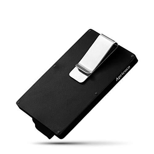 Metall ID Kreditkarteninhaber RFID Protector Aluminium Wallet Card Case,Schwarz