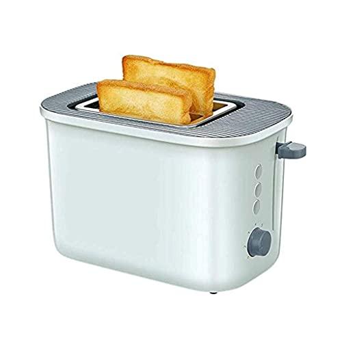 GHJU Qingqiasoshangmao 2 rebanadas Extra Anchas de la tostadora fácil con la característica Fresca de Tacto y descongelamiento, Control de Temperatura para Hornear de Doble Cara pequeña Verde