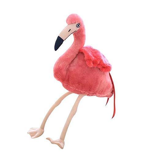Leyue Juguetes de peluche 30 cm simulación flamencos fello flamenco muñecas silvestre aves peluche juguete casa tienda decoración bebé niños regalo de cumpleaños