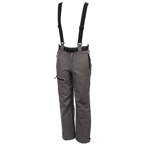 Eldera sportswear - Unosoft Gris ch Pant - Pantalon de Ski Surf - Gris chiné - Taille XL