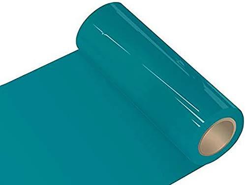 INDIGOS Oracal 651 Orafol glänzend, für Küchenschränke und Dekoration, Autobeschriftung, Schutzfolie Folie 5 m, Breite 50 cm, Farbe 66, türkisblau, ORACAL651-1-5mx50-66