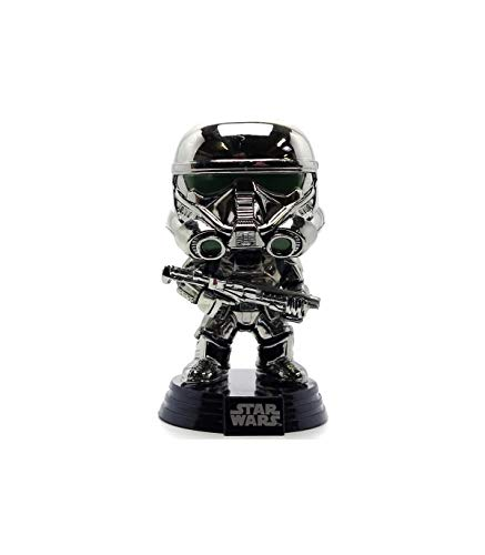 Funko POP Star Wars Rogue One Exclusive CHROME Imperial Death Trooper image