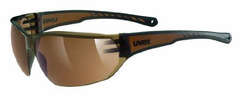 uvex Unisex– Erwachsene Sonnenbrille Sportstyle 204 Sportbrille, Brown, Einheitsgröße