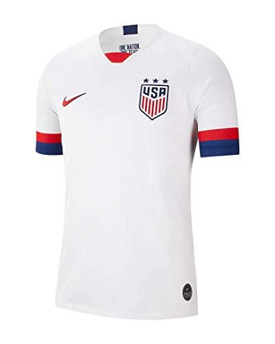 Nike USA 2019 Home Men's Stadium Away Jersey (X-Large) White