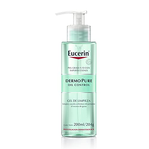 Eucerin DermoPure Gel Limpiador Facial, 200 ml
