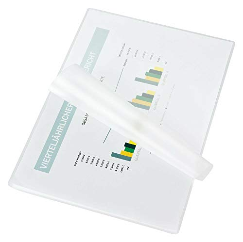 Fellowes Laminierfolien A4 ImageLast, 80 Mikron (2 x 80 mic), glänzend, 25 Stück, transparent mit Ausrichtungshilfe