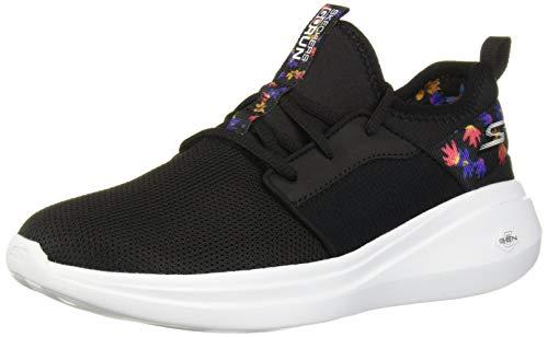 Skechers Women's GO Run FAST-17618 Sneaker, Black/Multi, 8 M US