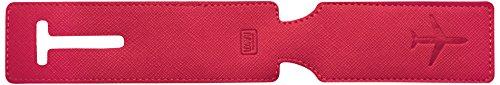 Legami Lug0015 Etichetta per valigie, 24 cm, Magenta