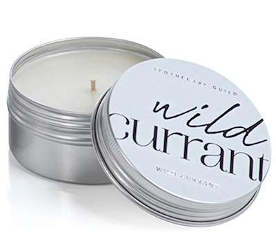 Zodax Wild Currant Apothecary Guild Scented Tin Candle