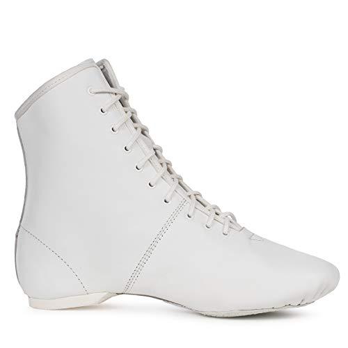 Kostov Sportswear Tanzstiefel Turnier (weiß, Gr. 42)
