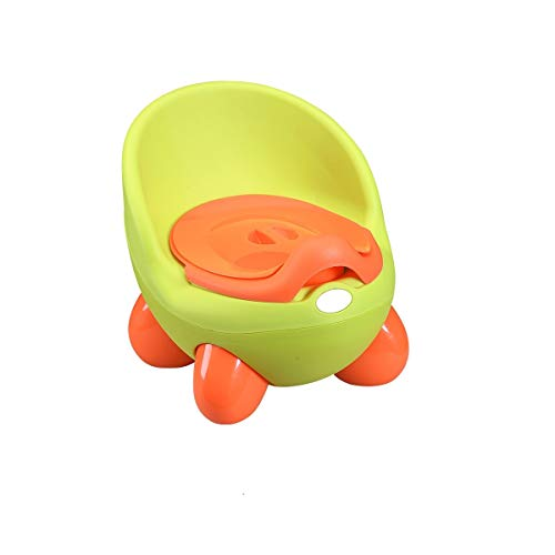 Pannenzitting uitneembare binnenpotjes/hoge rugleuning en ergonomisch design/anti-slip voetjes/geweldig design, dat je kinderen zullen dol op zijn