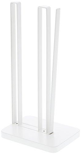 山崎実業 キッチンペーパーホルダー 片手で切れる キッチンペーパーホルダー プレート ホワイト 3260
