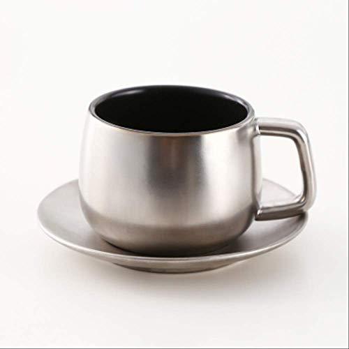 Prägnante Italien Tasse Espresso Tasse Keramik Nachmittag Teetasse Und Untertassen Mit Löffel Home Office Kaffee-set 04