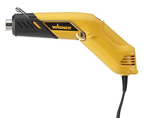 Pistola de aire caliente Wagner – Máx. 575 °C, 1600 W, cantidad de aire 675 l/min, mango ergonómico., 2398546