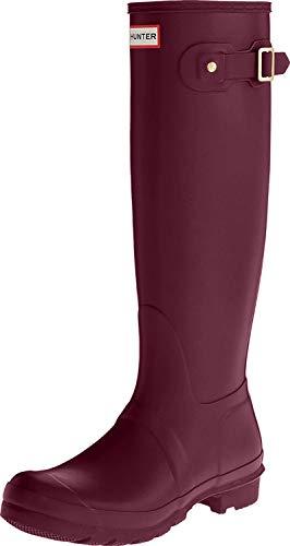 Hunter High Wellington Boots, Botas de Agua para Mujer, Morado (Purple Rvi), 37 EU
