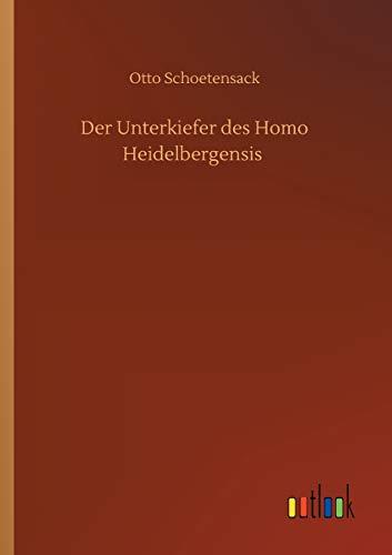 Der Unterkiefer des Homo Heidelbergensis