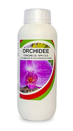 Fertilizzante Orchidee per Crescita Forte e Sana -Concime Orchidee Naturale - Rafforza Le Difese Naturali - Rivitalizza la Pianta - per Orchidee 1 Litro