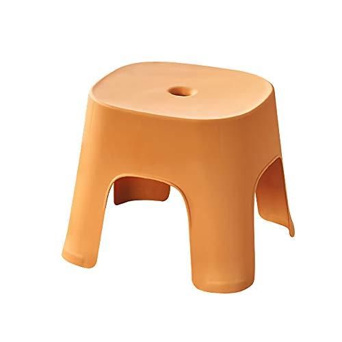 Omenluck 1 taburete plegable de plástico antideslizante para niños y adultos