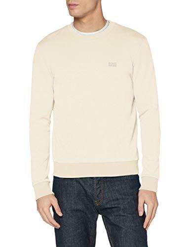 BOSS Mens Salbo 1G Sweatshirt, Light Beige (276), XXL
