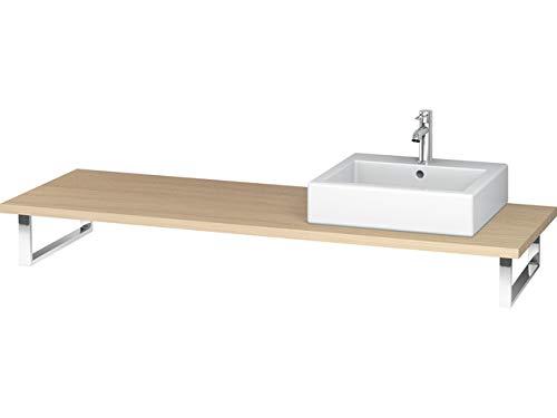 Duravit ve096C07171Waschtischkonsole für Waschbecken 1Ausschnitt 800mm Eiche