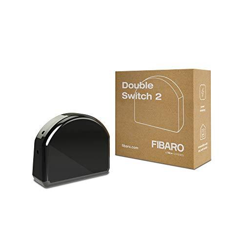 FIBARO Double Switch 2 / Z-Wave Plus Relaisschalter, Drahtloser Ein-Aus-Auslöser, FGS-223