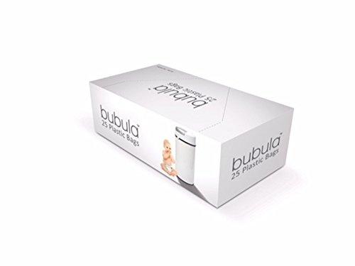 Bubula Diaper Pail Plastic Bags, 55 Litrer, 25 Count
