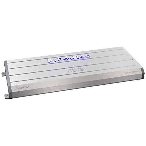 Hifonics ZRX1016.4 Zeus Car Audio Amplifier, 4-Channel 1000-Watt