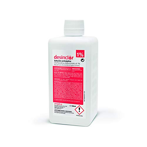 Desinclor Clorhexidina Acuosa 1% Antiseptico (500 ml)