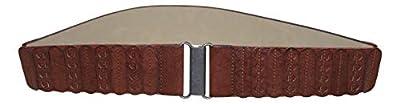 Style & Co. Women's Casual Panel Stretch Belt, Cognac, Large/X-Large
