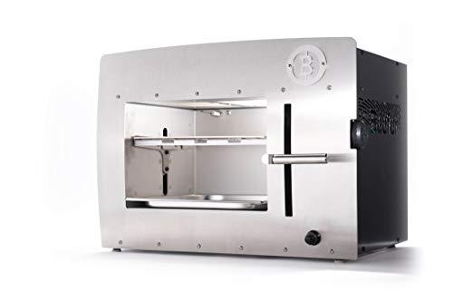31aydmZivVL - Beefer Original XL   der echte 800 Grad Premium Oberhitze Gasgrill   Edelstahl, Hochtemperatur   Der Hochleistungsgrill für das perfekte Steak   MEHR Fläche für MEHR Fleisch
