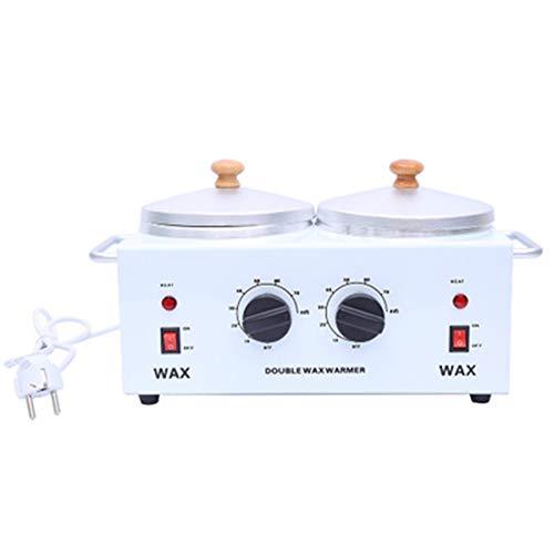 Salon Chauffe-Cire à Double Pot Outil d'épilation électrique Machine à Cire Postuler à Cire de Paraffine Mains Pieds Thérapie dépilatoire Outil de beauté de
