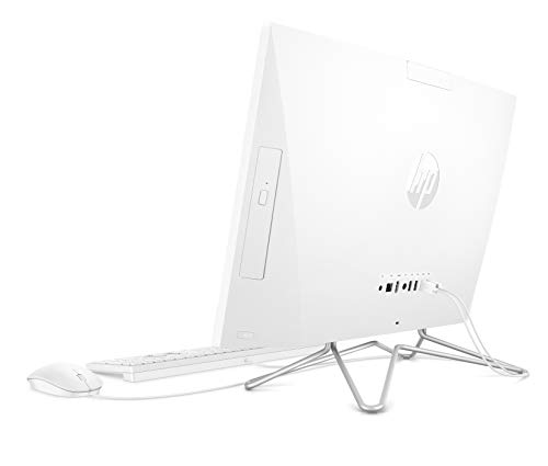 HP 24-df0084nf All-in-One 24' Full HD IPS Blanc (Intel Core i3, RAM 4 Go, 1 To + SSD 256 Go, AZERTY, Windows 10)