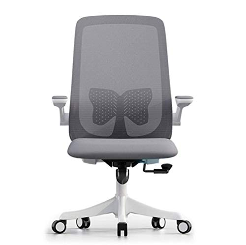 Home office chair Ergonomic Desk Chair with Adjustable Height and Lumbar Support High Back Mesh Computer Chair with Flip up Armrests for Conference Room-150kg Weight Capacity
