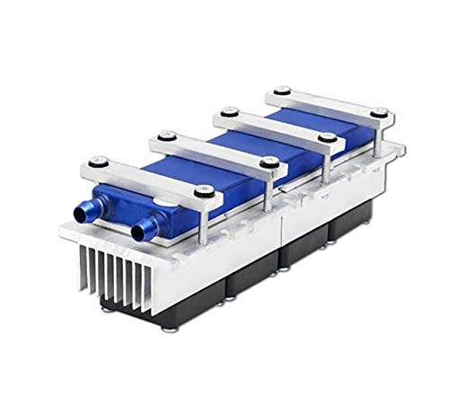 YEZIO DIY Kit, Semiconductor Refrigeration Piece Kit, 12v Electronic Cooler, 288W Radiator, Small Air Conditioner Refrigerator Cooling Module