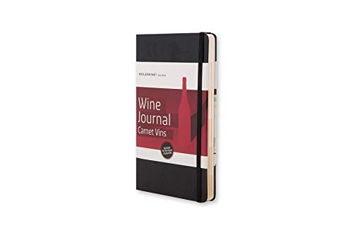 Moleskine Passion-Journal Wein Large, Hardcover mit Prägung schwarz