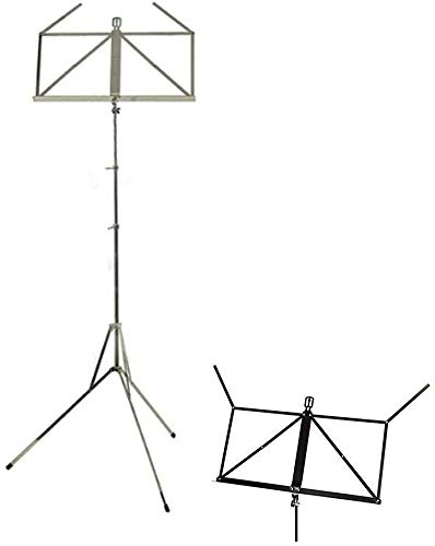 Lessenaar Lichtgewicht Bladmuziek standhouder Music Stand Aluminium Folding Portable Musical Instrument 1210 muziektafel