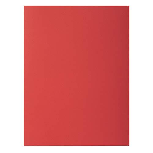 "Exacompta 807012E - Lote de 30 Subcarpetas Rock""S 80, Color Rojo"