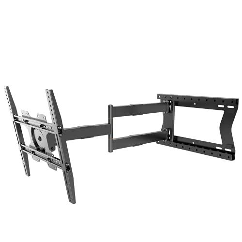 Nanook 2080 Soporte de Pared de Brazo Largo para televisores de 32 a 75 Pulgadas, Extensión Extra Larga de hasta 80 cm, Soporte de TV Que Permite Movimiento Completo, Soporta un Peso de hasta 60 kg