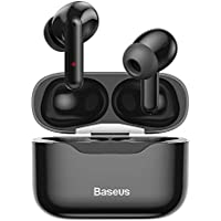 Baseus S1 Active Noise Cancelling Wireless Earbuds with Mic (Black)