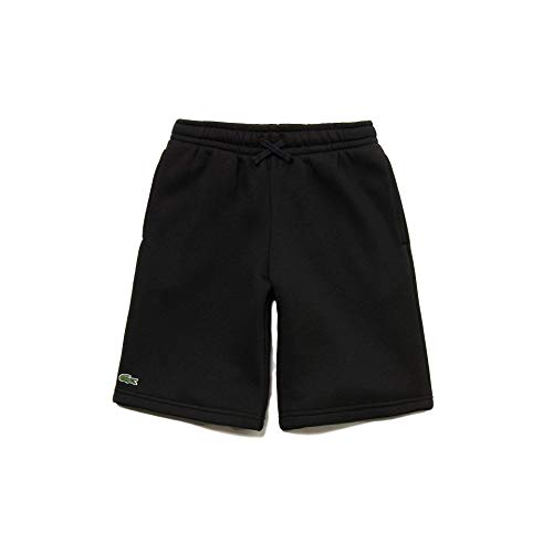 Lacoste Sport GJ0237 Pantalones Cortos de Deporte, Black, 16 ANS para Niñas