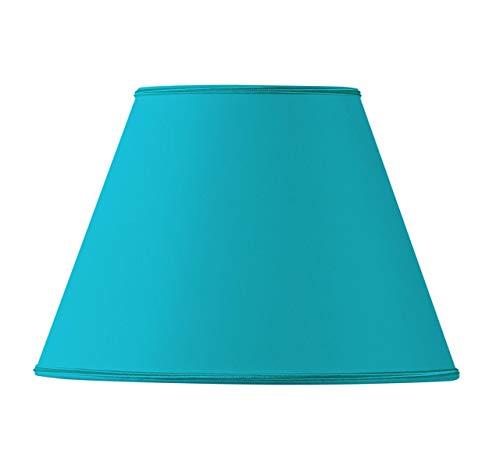 Lampenschirm konisch, 20 x 10 x 15 cm, Türkis
