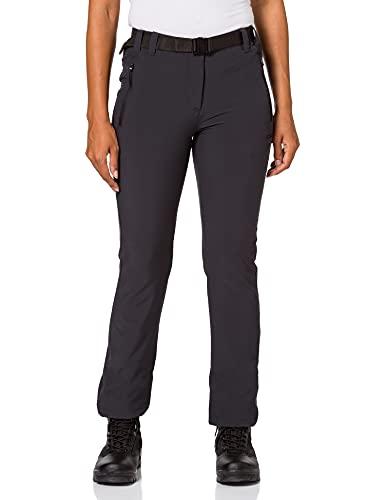 CMP Elastische Trekking Damen Outdoor Hose, Antracite, 42