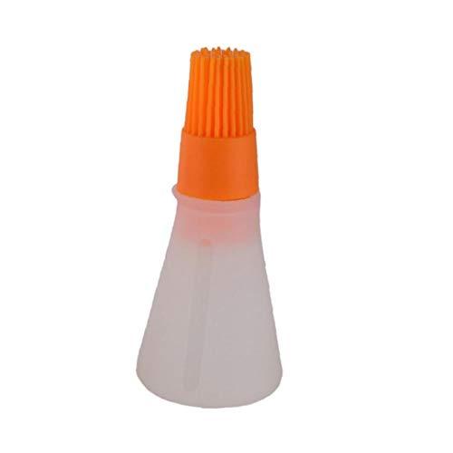 JRXyDfxn Orange Silikon BBQ-Pinsel Öl Honigwein Sauce Grill Küchenpinsel für Barbecue Kochen Braten Küchenhelfer