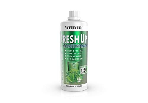 Weider Fresh Up Getränkekonzentrat, Waldmeister, zuckerfrei mit Vitaminen und Mineralstoffen, 1 Liter