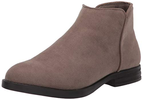Amazon Essentials Kids' Fashion Ankle Boot, Taupe, 4 Youth US Little Kid