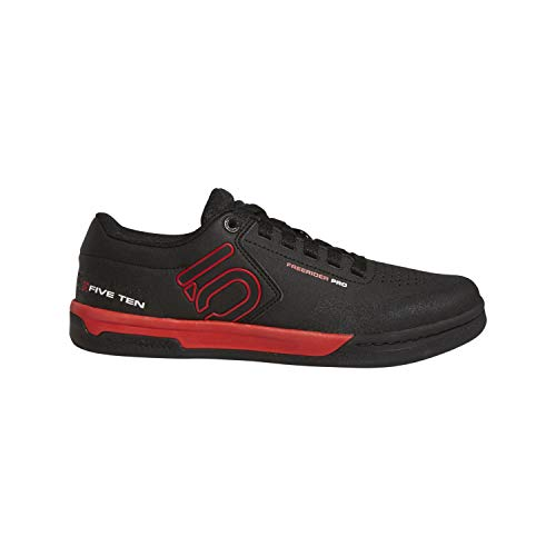 Five Ten Men's Freerider Pro Bike Shoes (Black/Red, 11.5 US)