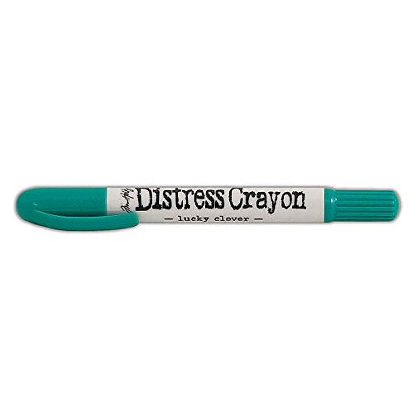Ranger Lucky Clover Distress Crayon, Green