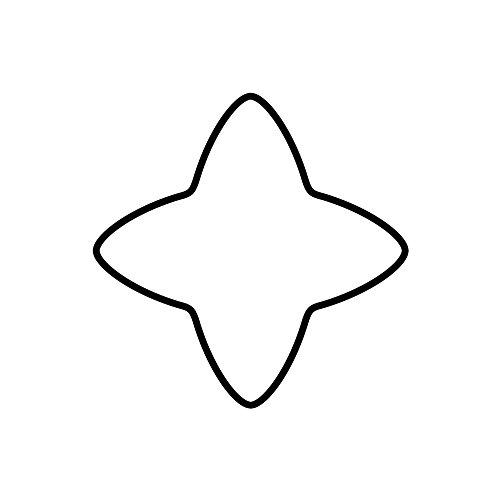 Kaiser foremka do wykrawania ciastek gwiazda cynamonowa 6 cm Boże Narodzenie jakość premium, łatwe i precyzyjne wykrawanie, bezpieczne i przyjemne użytkowanie
