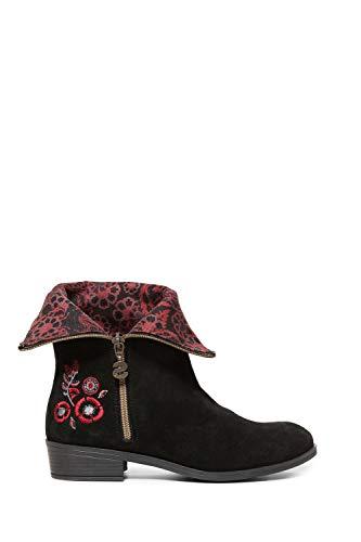 Desigual Womens SALIE Schwarz Boots 37