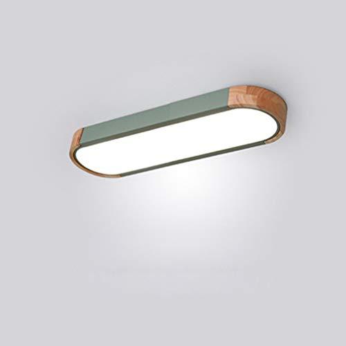 Alargado Lampara de Techo LED Dormitorio Regulable Superficie Plafon LED Techo Rectangular...